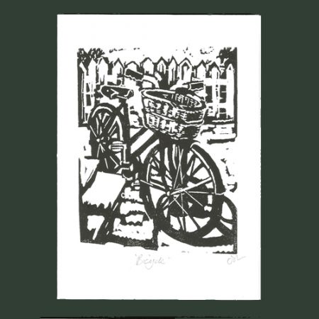 Cress Press Handmade Lino Printed Greetings Cards